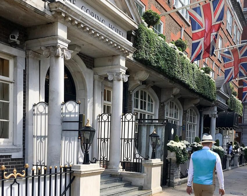 MAN LONDON ARTICLE, THE GORING HOTEL